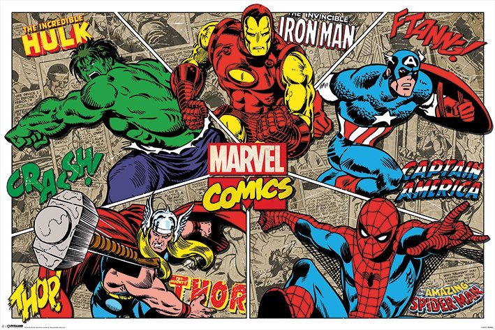 Commercial posters movies tv series comics super - Poster super heros ...